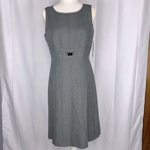 Tahari ASL Essentials Sleeveless Midi Dress Size 8
